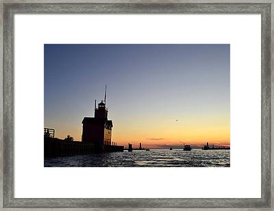 Heading Out Framed Print by Michelle Calkins
