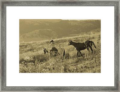 Heading Out Framed Print by Steven Bateson