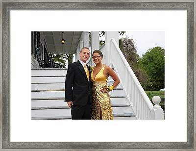 Heading To The Prom Framed Print by Carolyn Ricks