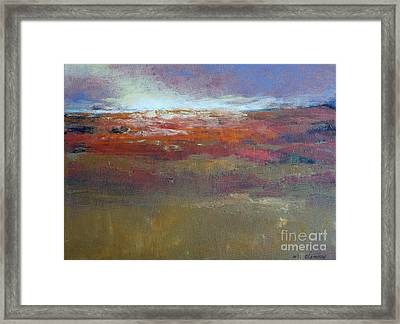 Heading West 6 Framed Print by Melody Cleary