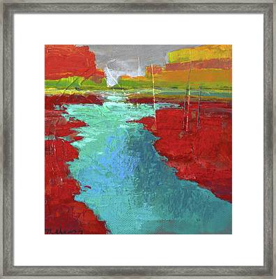 Heading West No. 3 Framed Print by Melody Cleary