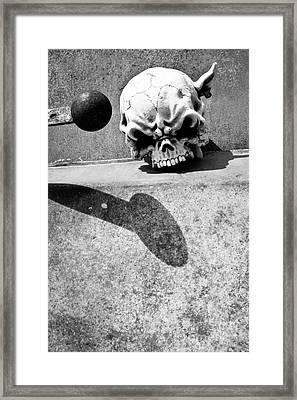 Headknocker Framed Print