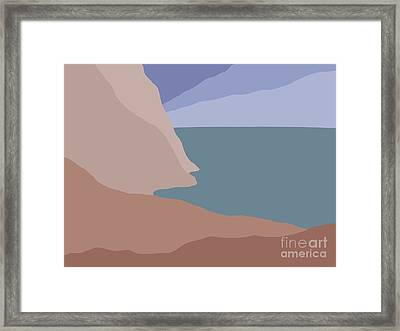 Headlands 3 Framed Print