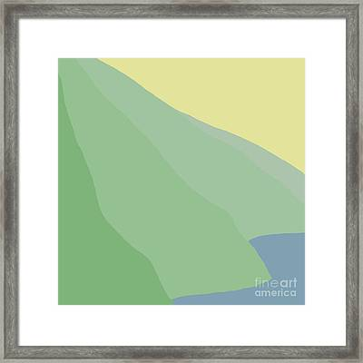 Headlands 6 Framed Print