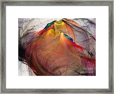 Headless-abstract Art Framed Print