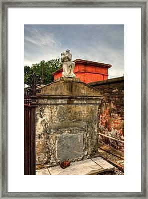 Headless Angel Framed Print