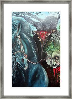 Headless Horseman Framed Print by Laura Barbosa