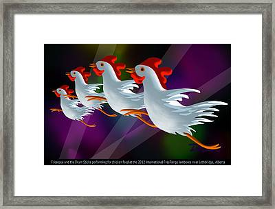 Headliners Framed Print by Tom Dickson