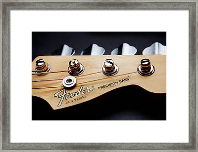 Headstock II Framed Print by Peter Tellone