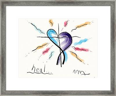 Heal... Framed Print by Jason Nicholas