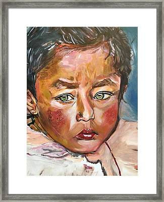 Heal The World Framed Print by Belinda Low