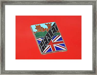 Healey Silverstone D Type Framed Print by Frozen in Time Fine Art Photography