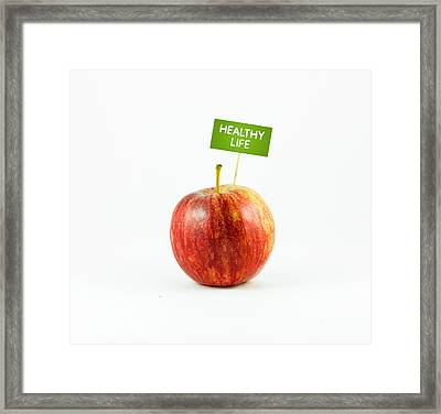 Healhty Life Framed Print by Aged Pixel
