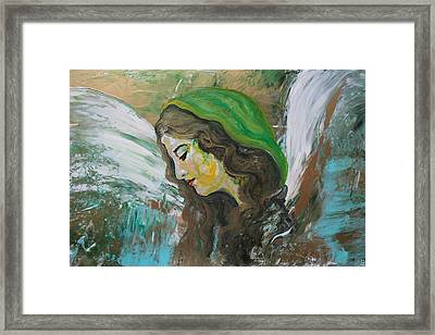 Healing Angel Framed Print