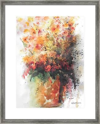 Healing Framed Print by Chrisann Ellis