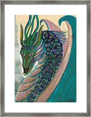 Healing Dragon Framed Print