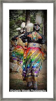 Healing Dress Framed Print
