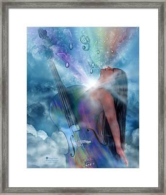 Healing Expression Framed Print