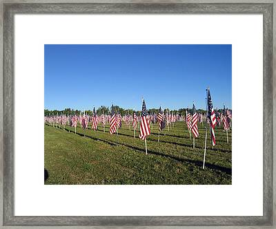 Healing Fields Framed Print
