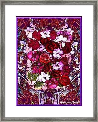 Healing Flowers For You Framed Print