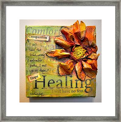 Healing From Isaiah 42 Framed Print