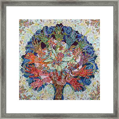 Healing Hands Framed Print by Erika Pochybova