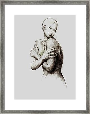 Healing Liz Framed Print