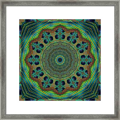 Healing Mandala 19 Framed Print by Bell And Todd