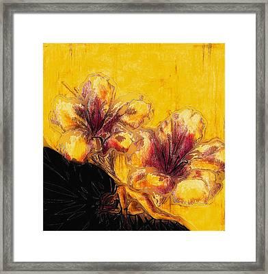 Healing Mary Ann Framed Print
