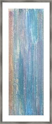 Healing Rain II Framed Print