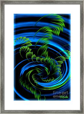 Healing Vortex - Abstract Spiritual Art By Giada Rossi Framed Print