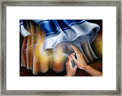 Healing Wings Framed Print by Ruth E