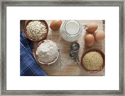 Healthy Baking Framed Print