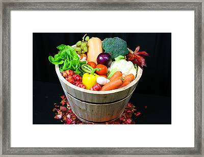 Healthy Living  Framed Print