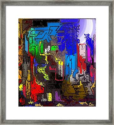 Hear Nor There Framed Print by Gregory Steward