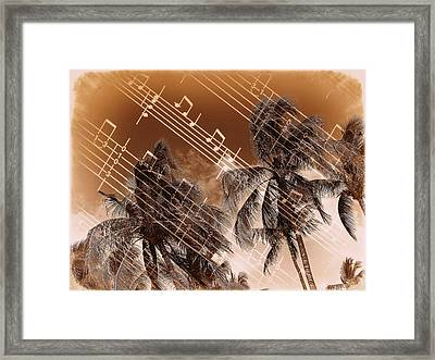 Hear The Music Framed Print by Athala Carole Bruckner