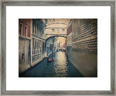 Hear The Sighs Framed Print by Laurie Search