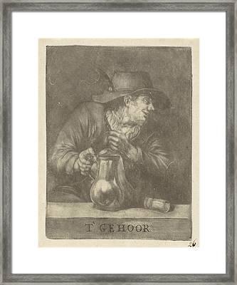Hearing, Pieter Pickaert Framed Print by Pieter Pickaert