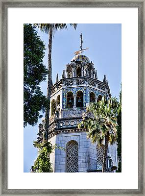Hearst Castle Tower - California Framed Print by Jon Berghoff
