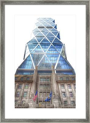 Hearst Tower - Manhattan - New York City Framed Print by Marianna Mills
