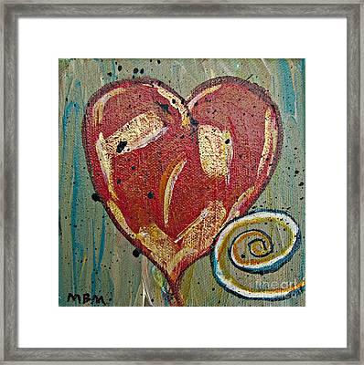 Heart 2 Framed Print