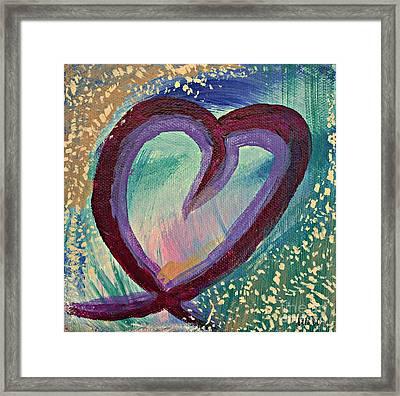 Heart 3 Framed Print