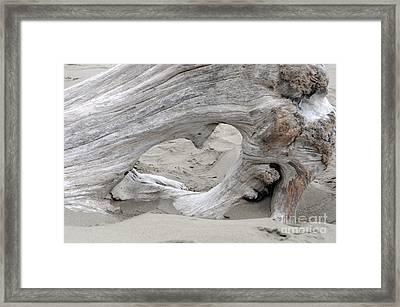 Heart Adrift Framed Print