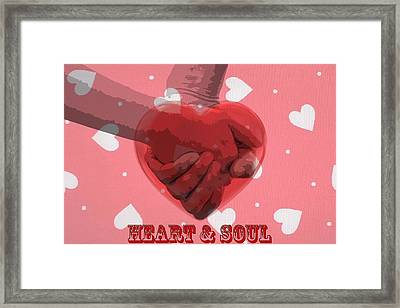 Heart And Soul Framed Print by Dan Sproul