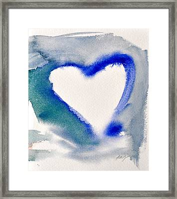 Heart And Soul Framed Print by Kimberly Maxwell Grantier