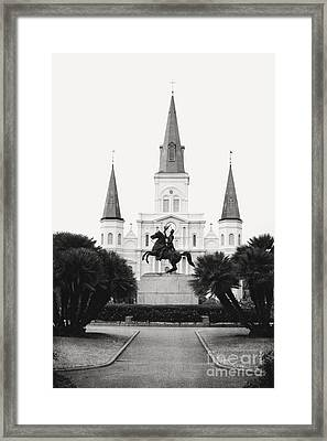 Heart And Soul Of New Orleans Framed Print