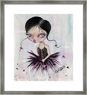 Heart Break Ballet Framed Print