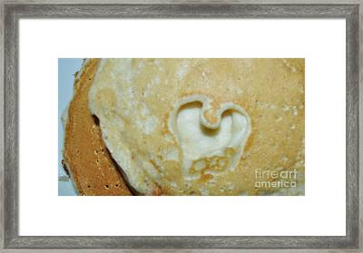 Heart Cakes Framed Print by Mindy Bench