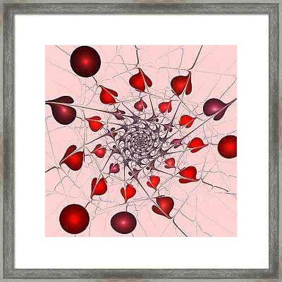 Heart Catcher Framed Print by Anastasiya Malakhova