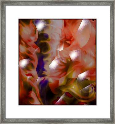 Heart Framed Print by Chamaigne Stone